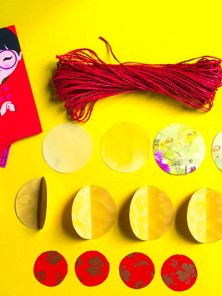 PositiveLeePeilin - Mickey CNY DIY Craft Circles