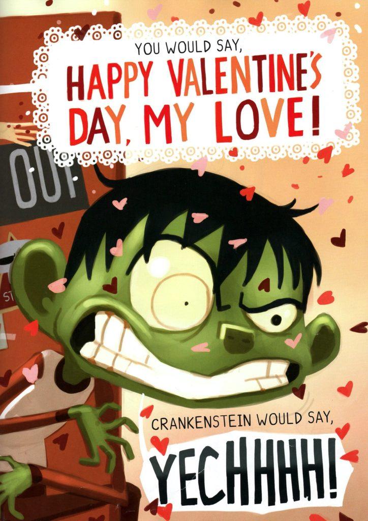 A Crankenstein Valentine by Samantha Berger Page Books about Valentine's Day