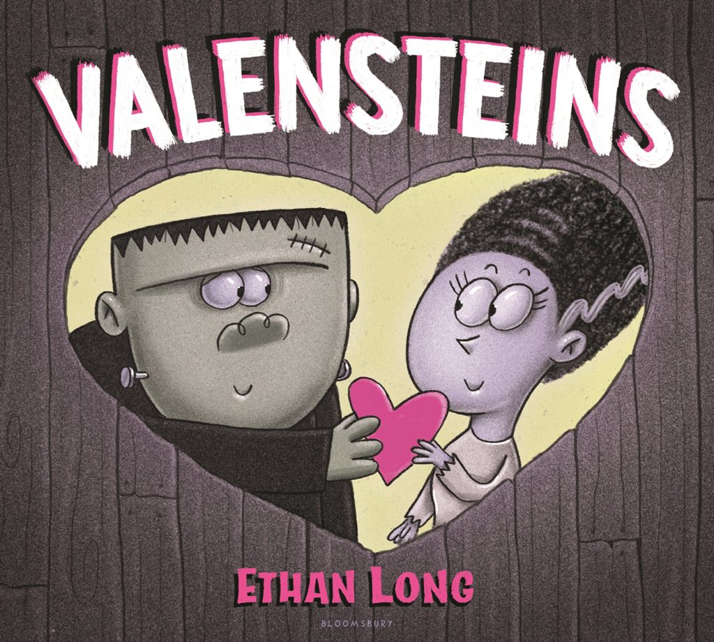 Valensteins by Ethan Long Cover Books about Valentines Day