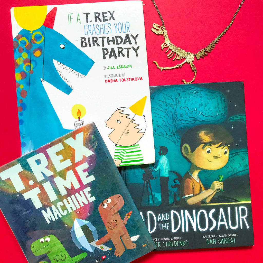 Top 3 Children's Books about Dinosaurs
