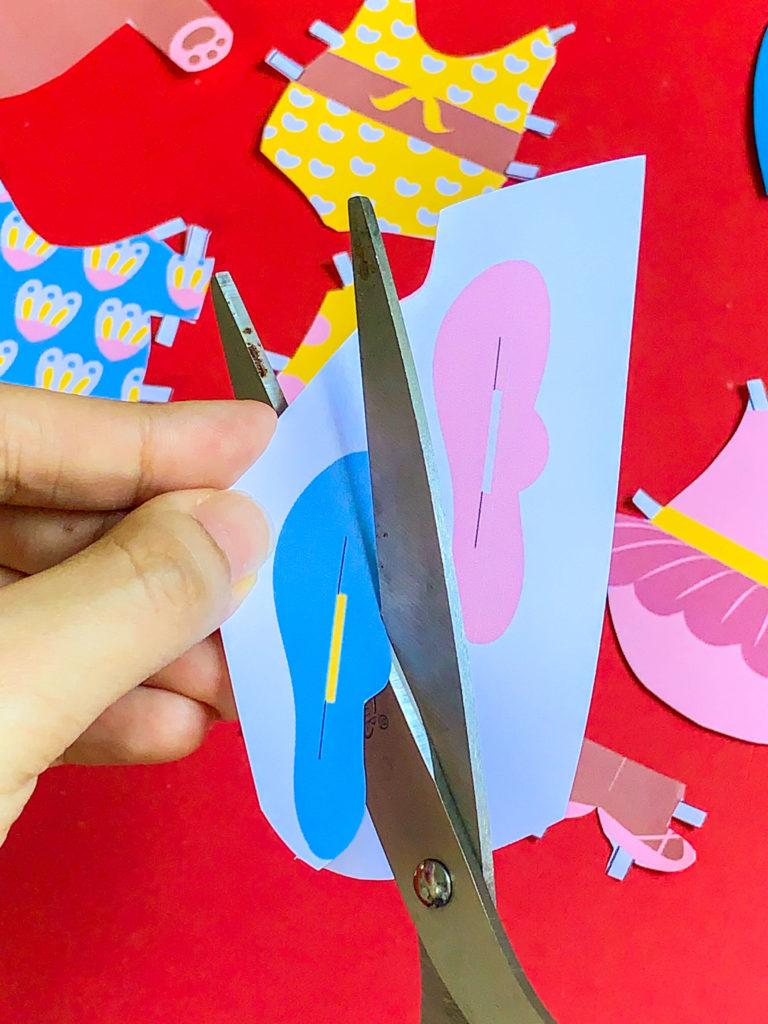 PositiveLeePeilin - DIY Craft Bear Paper Doll