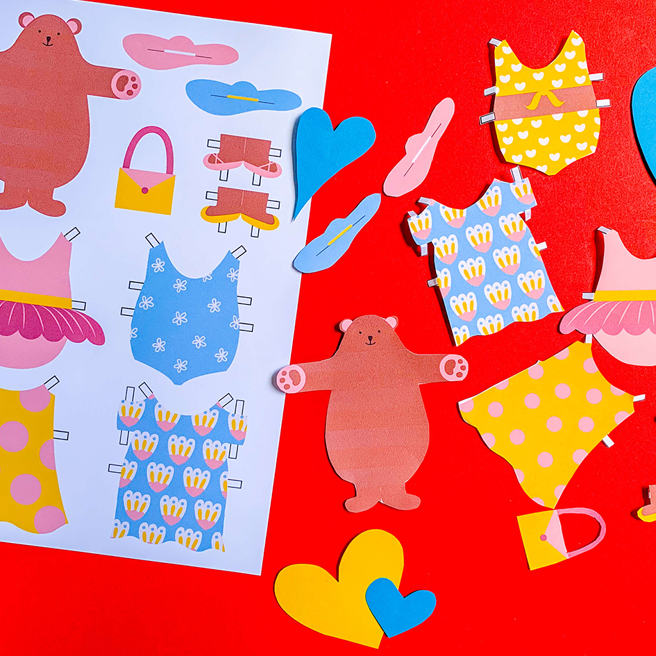 Bear Necessities: Make Your Own Paper Doll