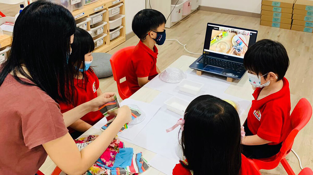 Online Storytelling with Singapore Schools