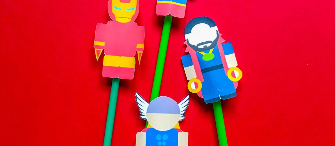 Superhero DIY Kids Crafts Avengers