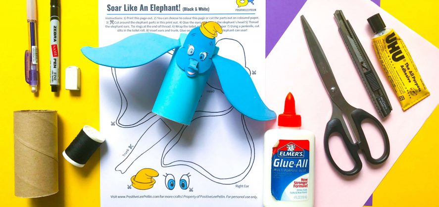 Dumbo DIY Craft Materials and Printable